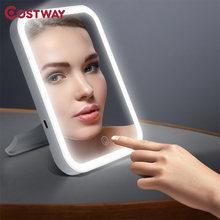 Costway 3 шестерни яркости макияж зеркало светодиодный косметическое