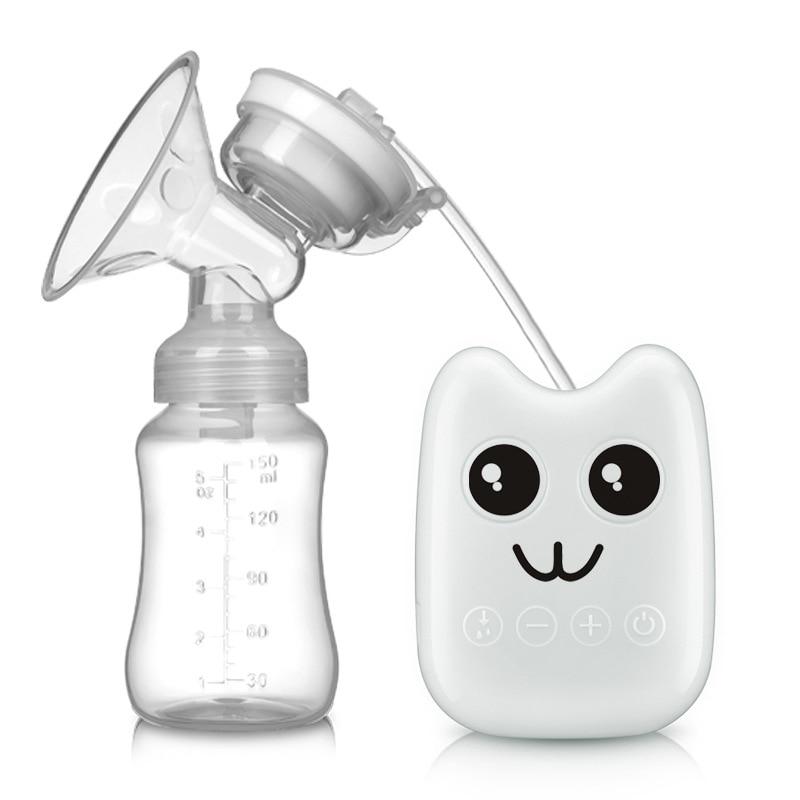 Single Electric Breast Pump Automatic Powerful Suction Intelligent USB Newborn Milk Extractor BPA Free Baby Breastfeeding CL5700