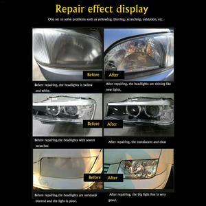 Image 2 - Kit de reparação de farol 800ml, farol de carro renovado, agente de revestimento líquido, ferramenta de reparo de farol de carro, manutenção de carros