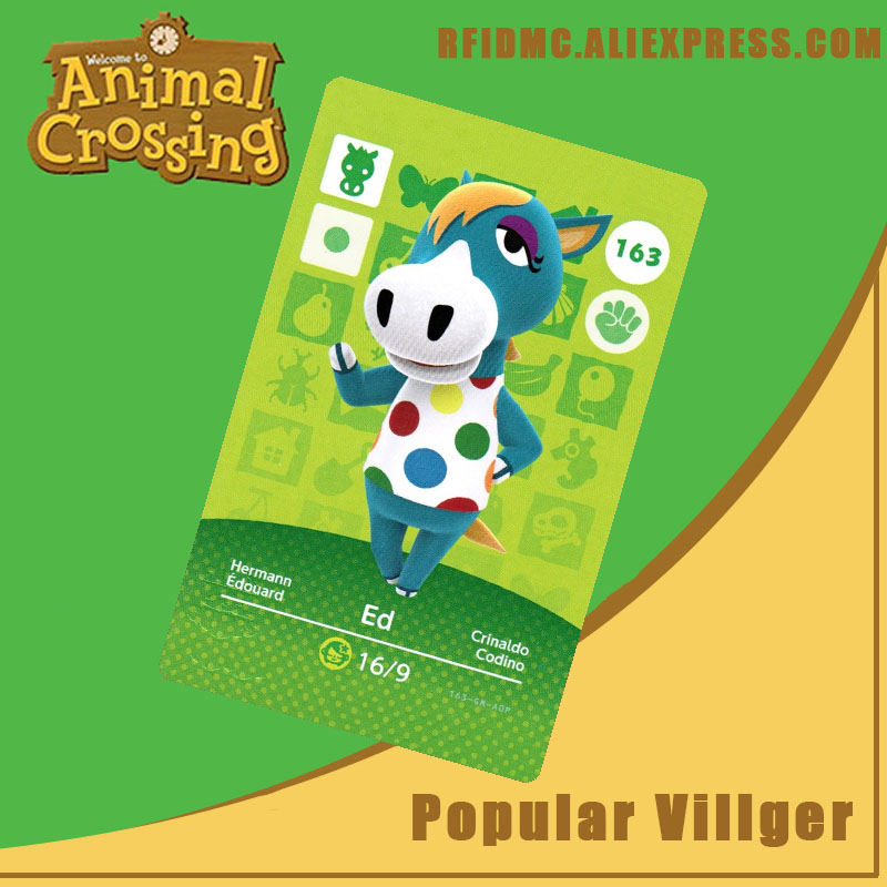 163 Ed Animal Crossing Card Amiibo For New Horizons