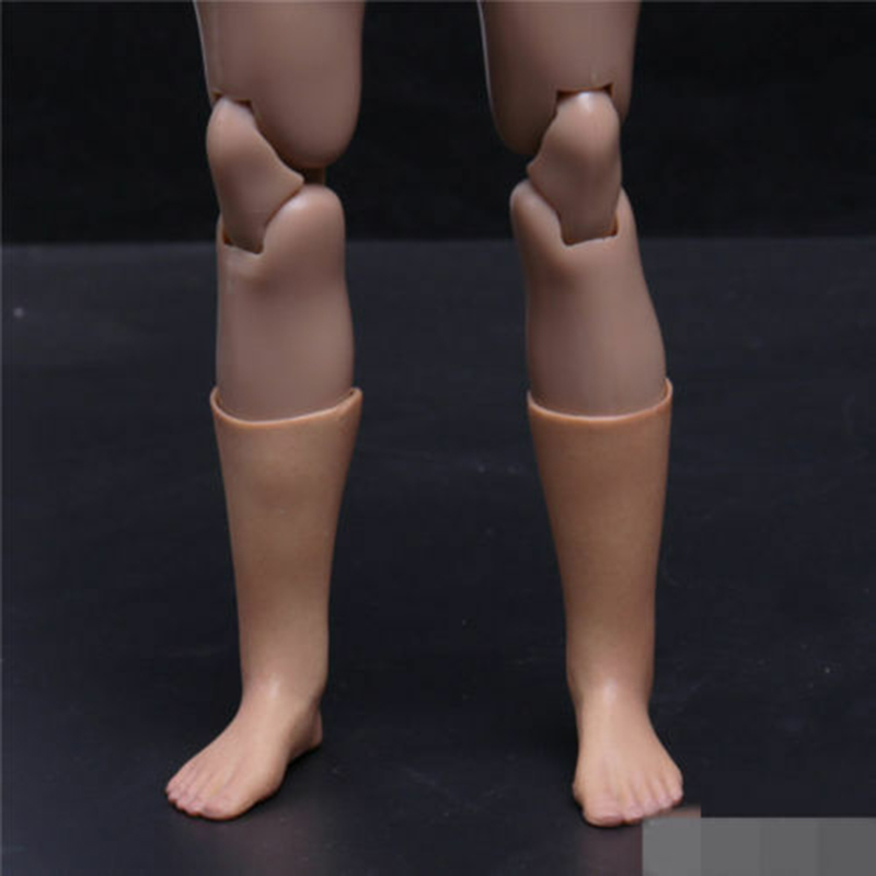 """1//6 Replacement Body Part Lower Leg Feet Type Model for 12/"""" Action Figure"""
