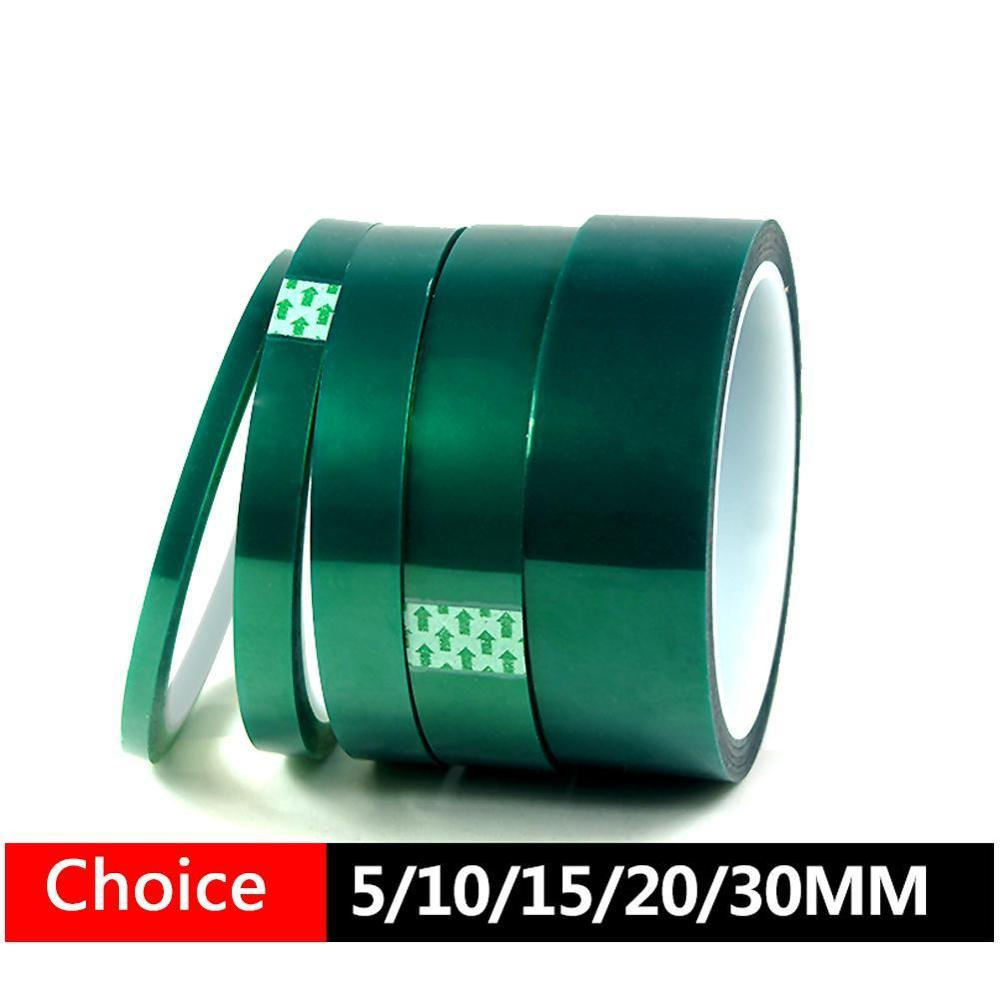 Green Pet Tape Heat-resistant PET High Temperature Shielding Tape For PCB Solder Plating Insulation Protection 10mm/20mm/30mm