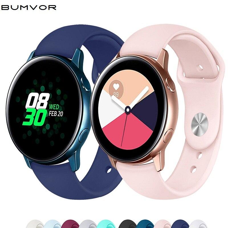 Galaxy Watch Active 2 Band For Samsung Galaxy Watch 42mm 20mm Watch Strap Gear Sport Huawei Watch 2 Pro Amazfit Bip Accessories