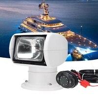 Nowe ciężarówki łodzi pilot samochodowy reflektor morski zdalny reflektor 12V 100W żarówka w Narzędzia wędkarskie od Sport i rozrywka na
