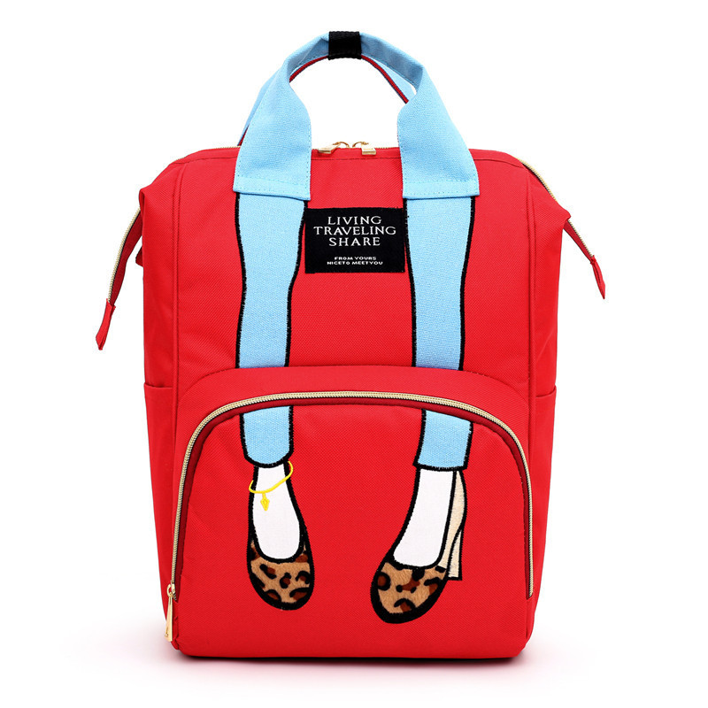 New 2020 Mummy Backpack Diaper Bag Baby Stroller Bag Waterproof Women Handbag Maternity Nursing Diaper Nappy Backpack Travel Bag