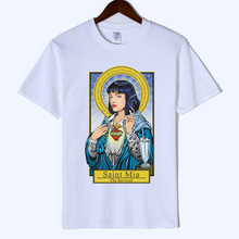 Freddie Mercury Fiction Saint Mia Jules MenT Shirt Catholicism Womens Clothing Pulp Female Casual Harajuku Man tshirt