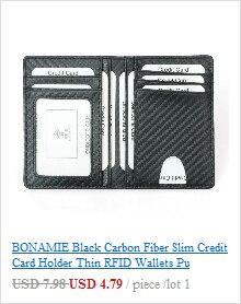 do cartão carteiras zíper saco de cartão