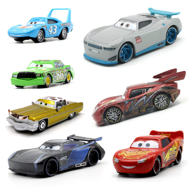 Disney Pixar Cars 3 21 Style For Kids Jackson Storm High Quality Car Birthday Gift Alloy Car Toys Cartoon Models Christmas Gifts