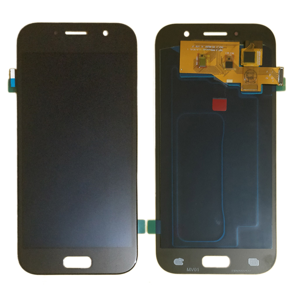 A520 <font><b>amoled</b></font> LCD for <font><b>Samsung</b></font> Galaxy A5 2017 A520 LCD Display Touch Screen Digitizer Assembly A5200 LCD Panel <font><b>A520F</b></font> A520K A520S image