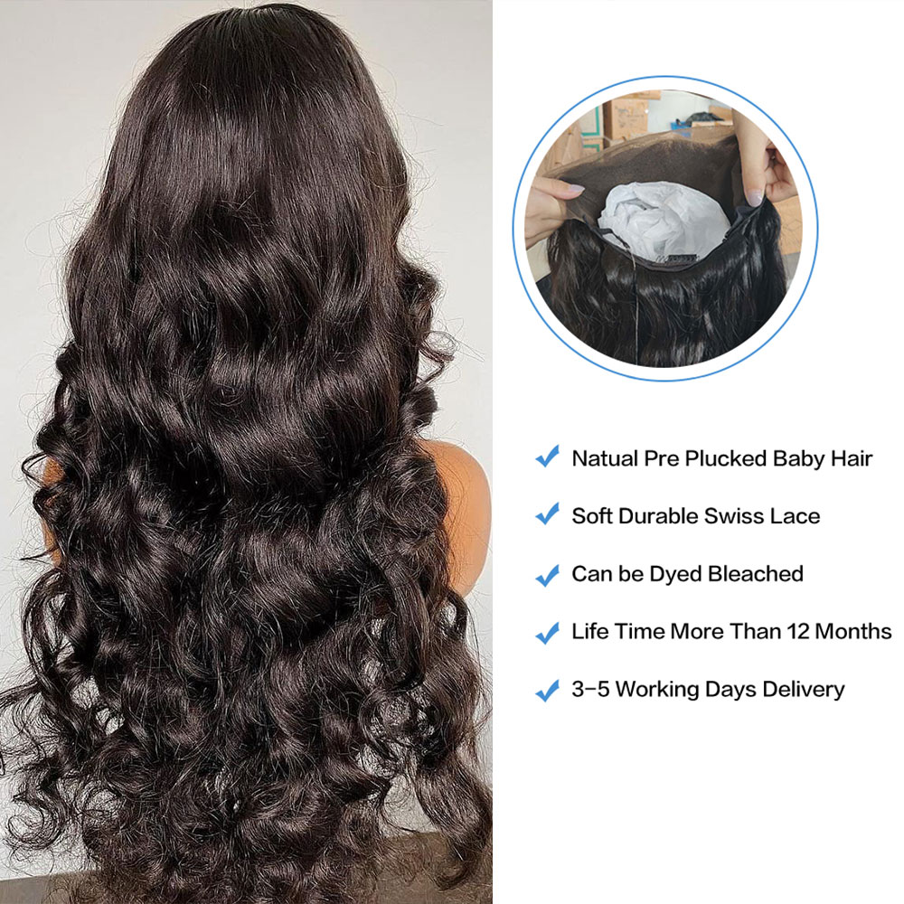 Hd Lace Front Wig Human Hair 5