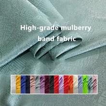 Clothing Fabric Silk Red Hanfu Jacquard Longevity DIY Sold-By-Meter Handmade Bright High-Grade