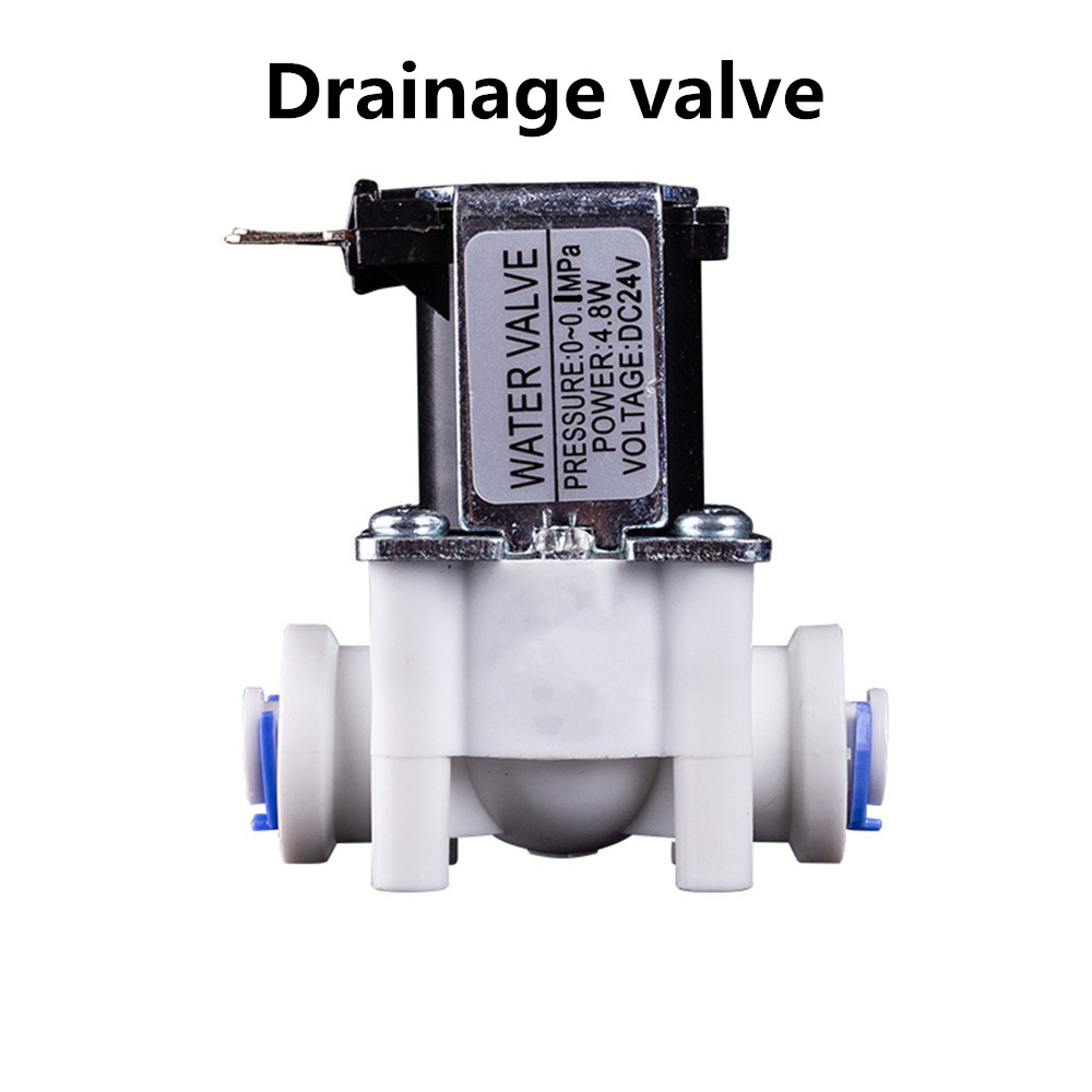 Electric Plastic Solenoid Valve 12V 24V Normally Closed 1/4