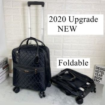 Women travel backpack with wheels Wheeled bag for travel trolley bags Oxford large capacity Travel Rolling Luggage Suitcase Bag