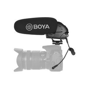 Image 2 - Boya BY BM3030 BM3031 BM3032 BM3032 BM3011 מיקרופון על מצלמה Shotgun הקבל Supercardioid עבור DSLR מצלמות הקלטת אודיו