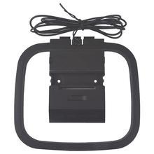 360 градусов универсальная FM/AM Рамочная антенна для приемника мини разъем для аналогового для Sony, Sharp Chaine стерео Hi-Fi радио