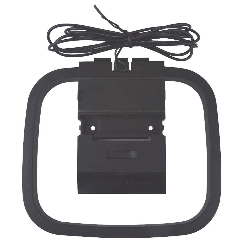 360 Degree Universal FM/AM Loop Antenna For Receiver Mini Connector For Analog Sony Sharp Chaine Stereo Hi-Fi Radio