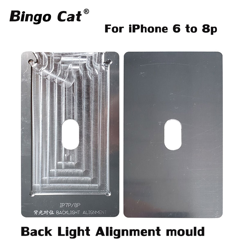 Back-Light Alignment-Mould IPhone Repair-Tool For Glass Lcd-Touch-Screen 6sp 8p 6g 7-7p