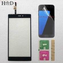 5.5 için mobil dokunmatik ekran Micromax tuval 6 E485 dokunmatik ekran Digitizer paneli sensörü dokunmatik telefon ekranı cam koruyucu Film