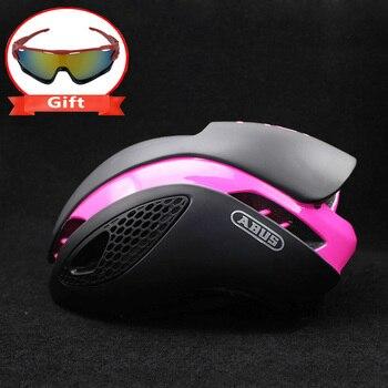 300g Aero TT Bike Helmet Road bike Cycling Bicycle Sports Safety Helmet Riding Mens Racing In-Mold Time-Trial Helmet 14