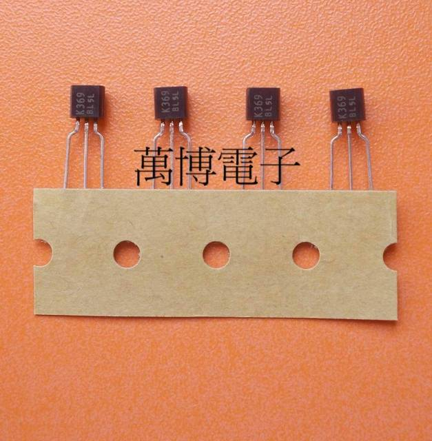 6 pièces K369 BL 2SK369 BL K369 Original tout neuf fabriqué au japon transistor à effet de champ to 92