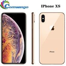 Оригинальный разблокированный Apple iphone XS 4G LTE 4G RAM 64 Гб/256 ГБ ROM A12 бионический чип IOS12