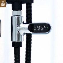 Yeni Youpin yükseltilmiş versiyonu banyo banyo bebek su sıcaklığı sayma ekran duş led elektronik termometre