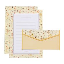 Creative Beautiful Letter Paper Envelope  Floral Cute Cartoon Set Letterhead Small Fresh Gifts