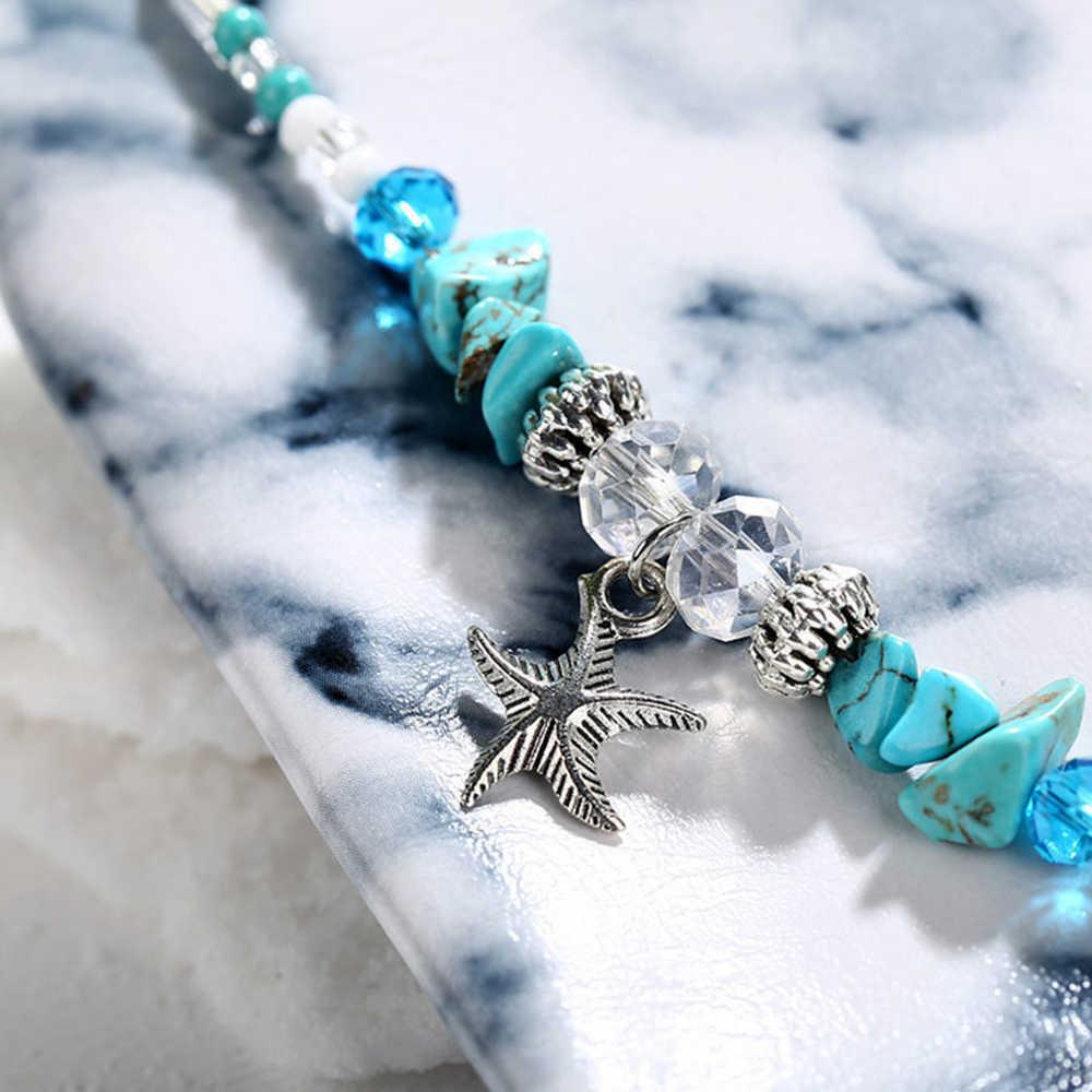 Metalen Kwastje Enkelbanden Voor Vrouwen Strass Schoen Kettingen Hoge Hakken Enkelbandje Accessoires Zomer Armband Voet Sieraden