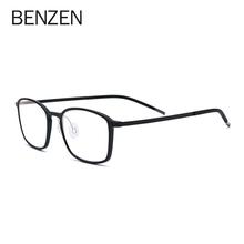BENZEN okulary do komputera TR90 blokujące niebieskie światło szkło mężczyźni czytanie gogle okulary ochronne okulary okulary do gier kobiety tanie tanio Cr-39 Unisex Plastikowe tytanu 5186 50mm 37mm