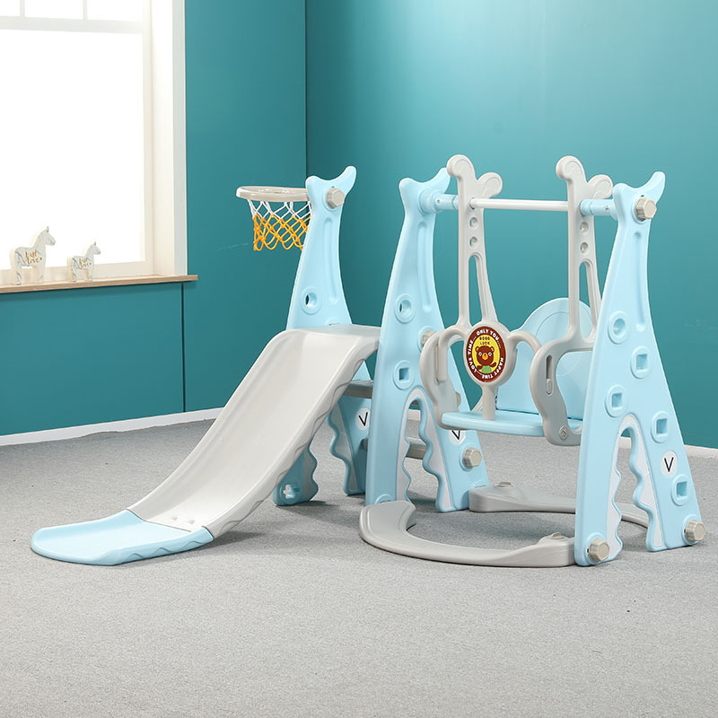 Baby Slide Swing Combination  Swings  Indoor Family Kindergarten Baby Playground Small Baby Multi-functional Toys Bouncer