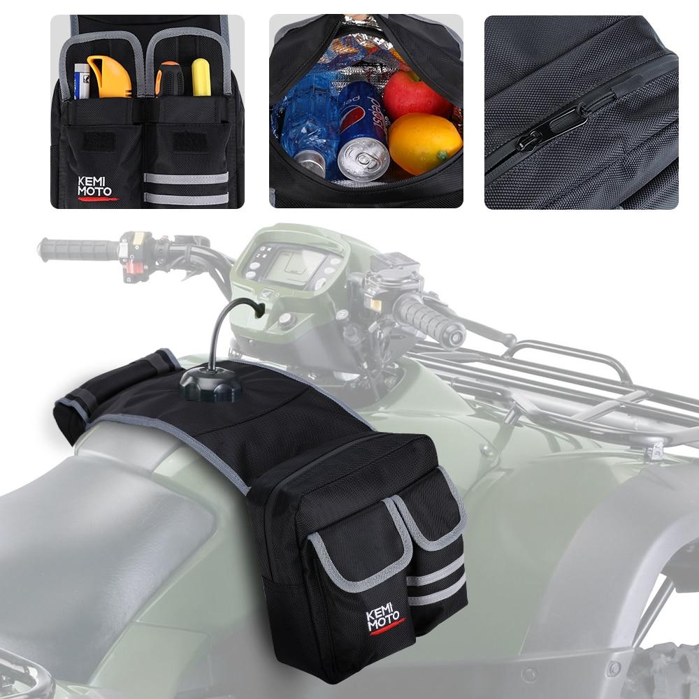 ATV Motorcycles Fuel Tank Bag Saddlebag For Polaris For Can Am For Yamaha For Honda For Snowmobiles Oil Bags