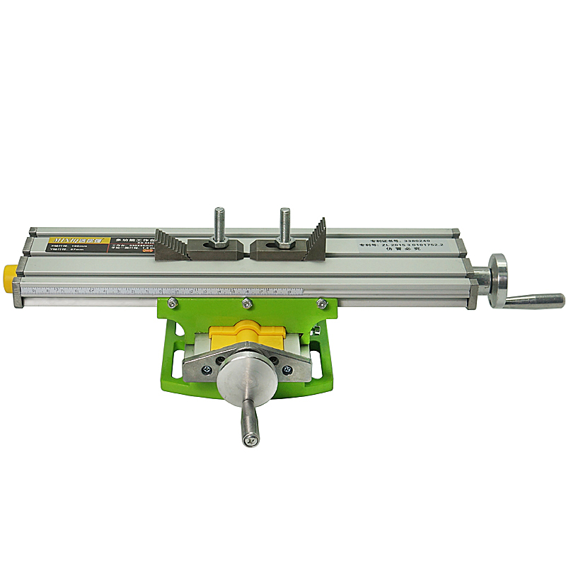 LY 6330 Multifunction Milling Machine Bench Drill Vise Fixture Worktable Adjustment Coordinate Table Miniature Precision