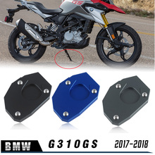 17 18 Motorcycle Accessories For BMW G310GS G 310GS 310 GS 2017-2018 Kickstand Extension Plate Foot Side Stand Enlarge Pad