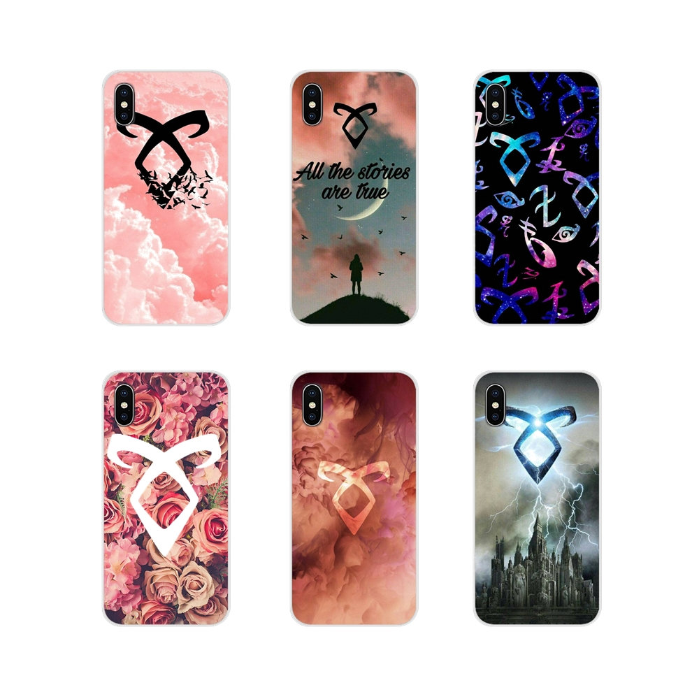 Accessories Phone Cases Covers Hybrid Shadowhunters For Apple iPhone X XR XS 11Pro MAX 4S 5S 5C SE 6S 7 8 Plus ipod touch 5 6
