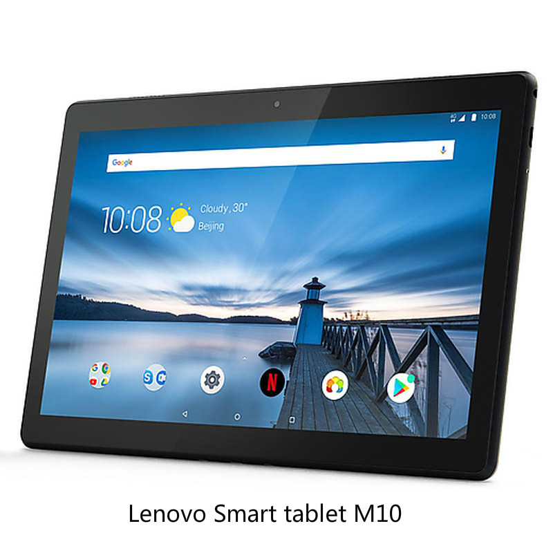 Newest Lenovo Smart Tab M10 10.1 Inch TB-x605f Qualcomm Snapdragon 450 4G RAM 64G ROM  4850mAh WIFI Version Black