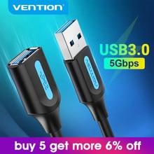 Vention – câble d'extension USB 3.0 mâle vers femelle, 3.0 2.0, pour données, pour PC, Smart TV, PS4