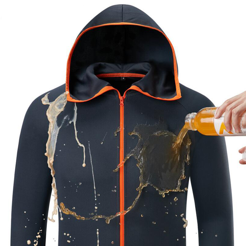 Man Fishing Clothes Tech Hydrophobic Outdoor Fishing  Clothing Waterproof Anti-Fouling Quick Drying
