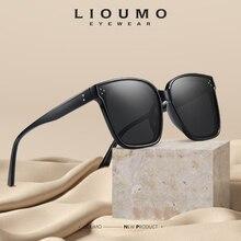 Oversize Sunglasses LIOUMO Eyewear Square Design Women Polarized Fashion UV400 Gafas-De-Sol