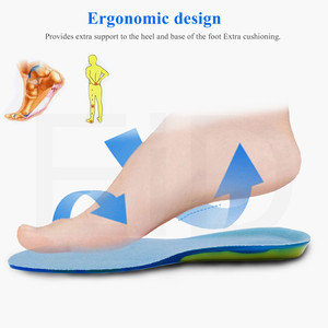 Image 5 - EiD Silicon Gel Insoles for feet Plantar Fasciitis Heel Spur Running Sport Insoles Shock Absorption Pads arch orthopedic insole