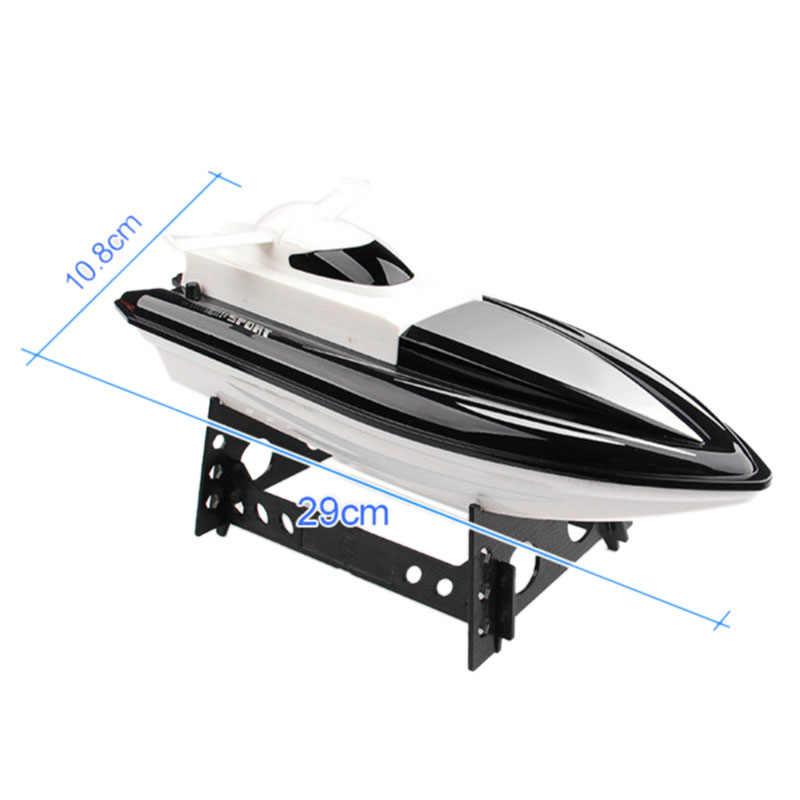שלט רחוק סירת מרוץ 20 km/H 2.4g סופר גבוהה מהירות סירת שלט רחוק סירת מרוץ חשמלי שלט רחוק צעצוע קיץ מים T