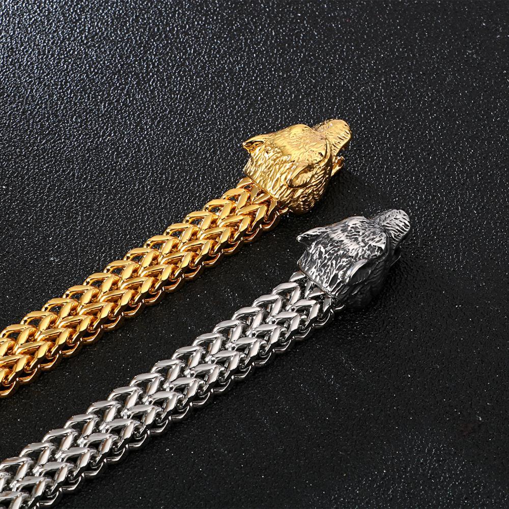 Bracelet Viking loup  3