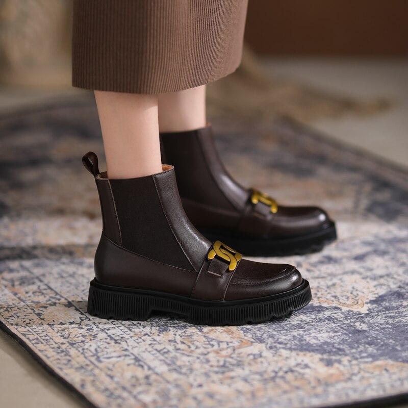 feminino tornozelo botas plataforma moda salto alto