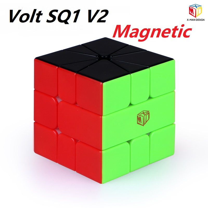 XMD Qiyi Mofangge Volt SQ1 V2 M X-Man Design SQ 1 Magnetic SQ-1 Square 1 Magic Speed Cube Puzzle Magico Cubo Educational Toys