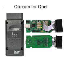 OP-COM V1.7 2014V Interface for Opel Opecom Auto Diagnostic Cable with PIC18F458 Chip(China)