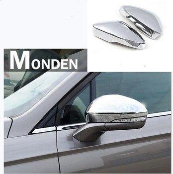 Dành Cho Xe Ford Mondeo Cho Fusion 2013-2018 ABS Sợi Carbon In Cửa Bên-Xem Cánh Tấm Che Mưa Gương Chiếu Hậu viền 2 Chiếc