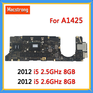 Tested Orignal A1425 Motherboard 820-3462-A for MacBook Pro Retina 13