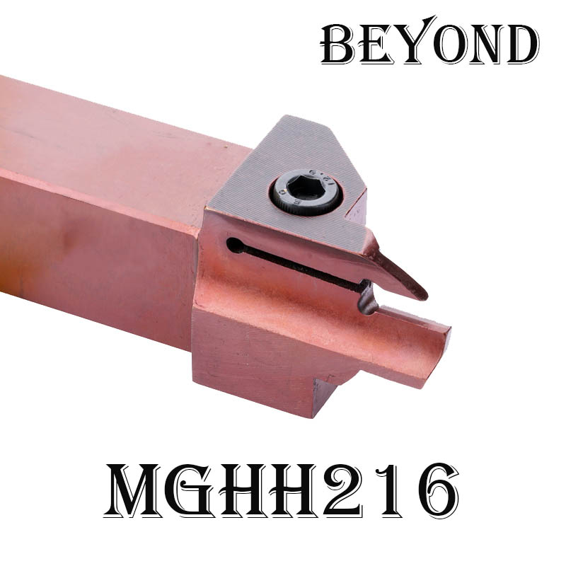BEYOND MGHH end face grooving shank MGHH320 MGHH420 MGHH216 MGHH220 <font><b>30</b></font> <font><b>50</b></font> 80 160 300 400 800 carbide inserts MGMN lathe cutter image