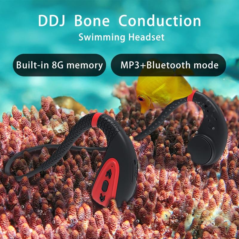 Ddj Q1 bone conduction earphone