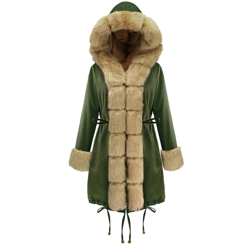 jacket army womens long 7