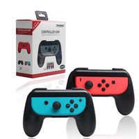 Nintendo Switch Unisex Joy-Con Presa di Controllo 2 PCs Dobe NS Manico Manico In Plastica